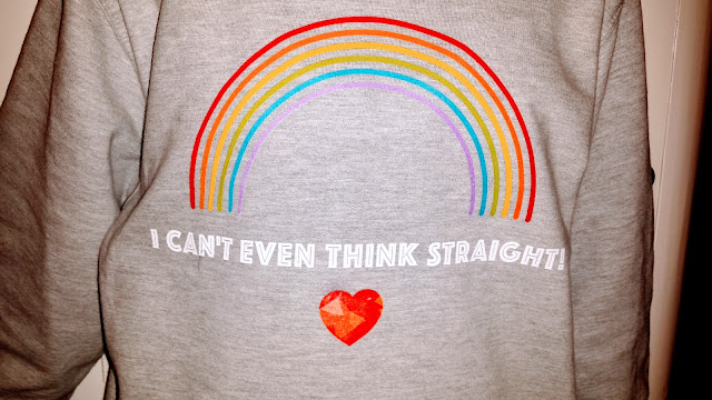teen sweat shirt can't think straight
