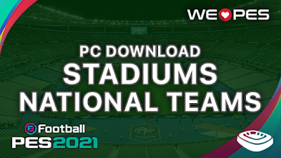 Stadiums PC | National Teams | Download | PES 2021