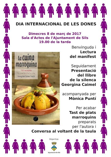 Presentació La cuina marroquina a Sils
