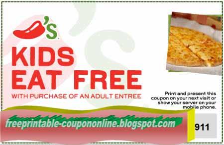 photograph regarding Chili Printable Coupons titled Printable Discount coupons 2019: Chilis Discount codes