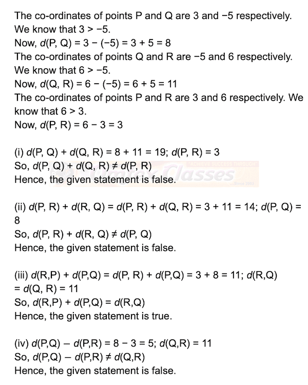 Chapter 1 - Basic Concepts In Geometry, Mathematics Part II Solutions for Class 9 Math, Problem Set No. 1,