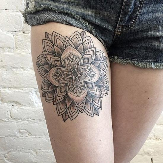 Gorgeous Geometric Tattoos