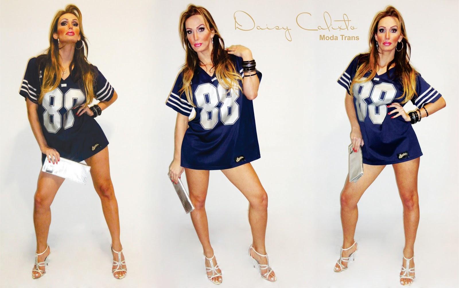 6907a153d3 Daisy Calixto Moda Trans  CAMISETAS ESPORTIVAS