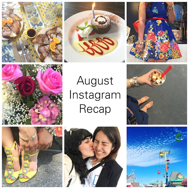 August Instagram Recap @willbakeforshoes