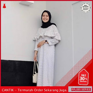 Jual RRJ285D109 Dress Inka Stripe Wanita Sf Terbaru Trendy BMGShop