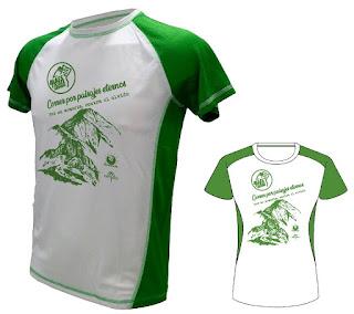 camiseta maestrail trail geoparque maestrazgo villarluengo teruel 2018 octubre