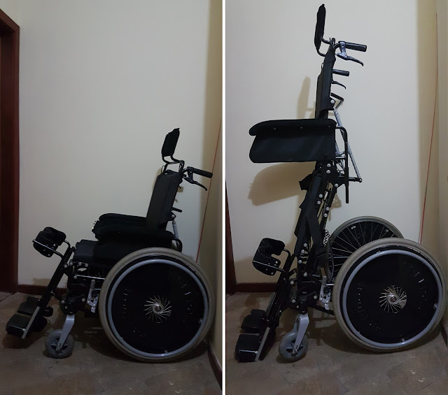 Stand Up hand-operated wheelchair | Reatech
