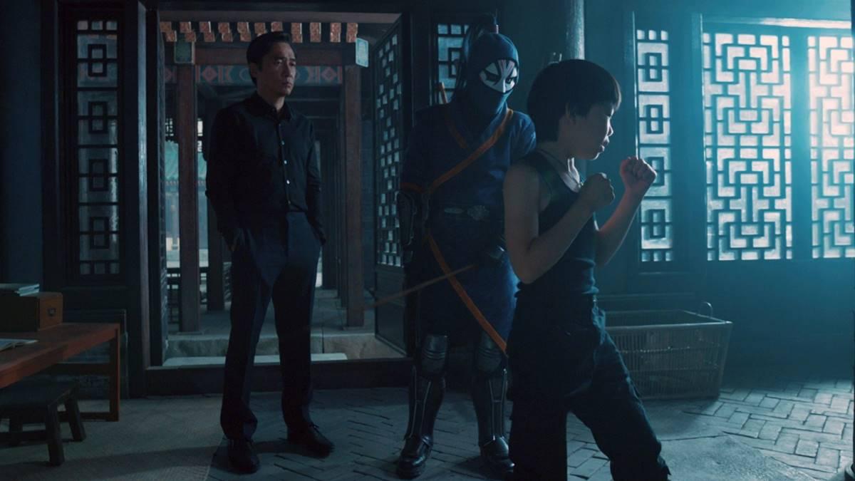 Wenwu melatih Shang-Chi kecil