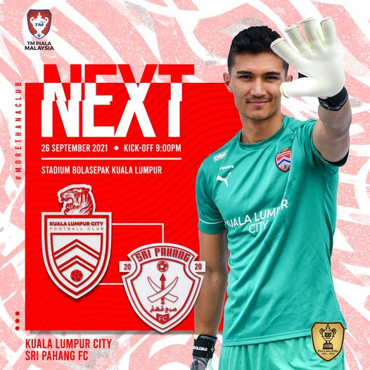 Siaran Langsung KL City vs Pahang 26.9.2021