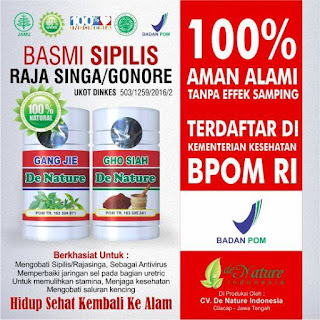 Nomor Telepon Agen Obat Herbal Sipilis de Nature di Palembang