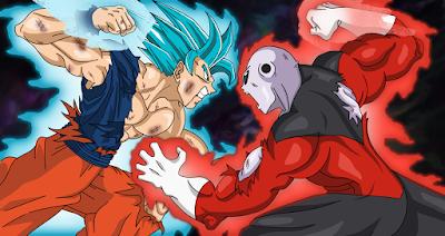 Goku vs jiren ultima batalla