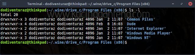 Cara Uninstall Aplikasi Windows Yang Dijalankan Dengan Wine di Linux