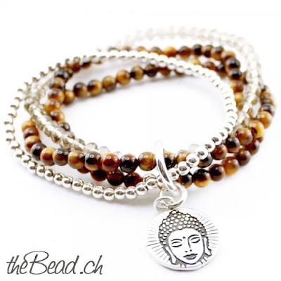 Perlenarmbänder und Armbänder aus Edelsteinen