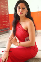Actress Zahida Sam Latest Stills in Red Long Dress at Badragiri Movie Opening .COM 0192.JPG