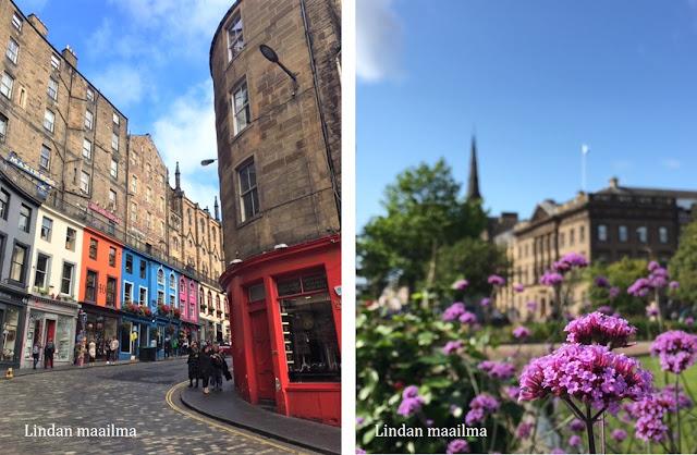 Edinburgh vanha kaupunki