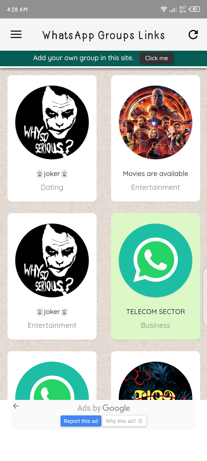 WhatsApp Group App Download (100% Active) 2