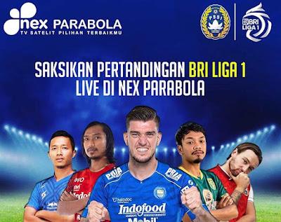 Nex Parabola Siarkan BRI Liga 1 2021/2022