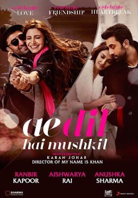 Trailer Film Ae Dil Hai Mushkil 2016