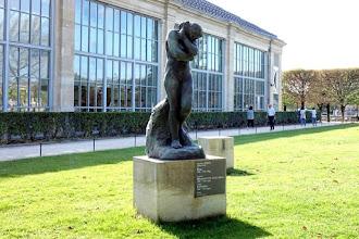 Paris : Eve, une oeuvre d'Auguste Rodin au Jardin des Tuileries - Ier