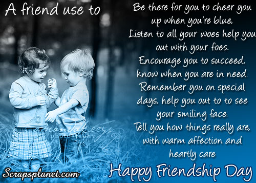Happy Friendship Day Message, Top Best Friendship Day 2017 Message &  SMS