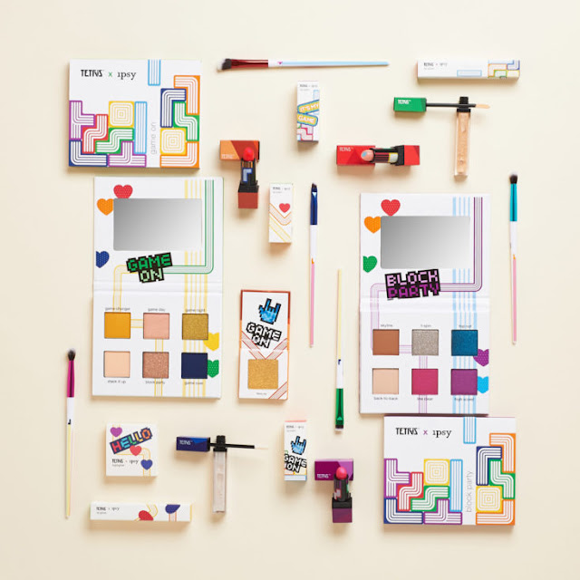 Tetris Makeup Collection