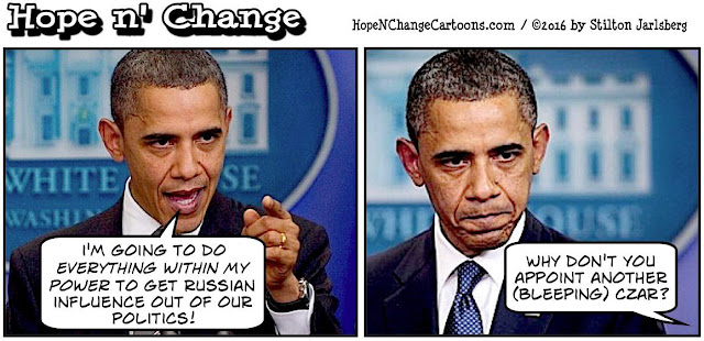 obama, obama jokes, political, humor, cartoon, conservative, hope n' change, hope and change, stilton jarlsberg, electoral college, russia, hackers, czar