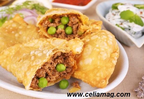 سمبوسة البف الحجازي / طبخات سعودية