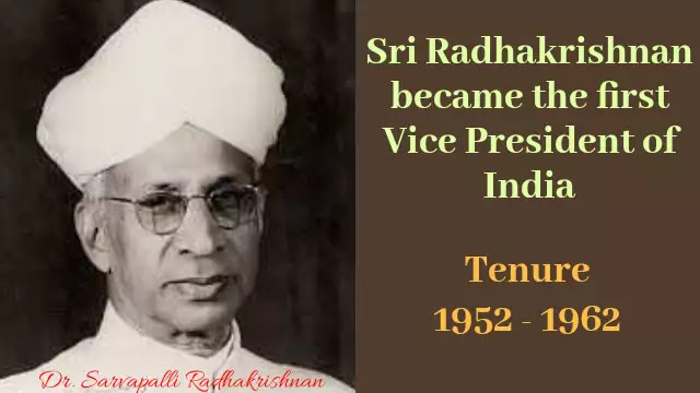 The first Vice Presiden of India