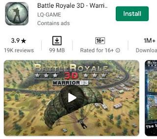 Battle Royale 3D Warrior63
