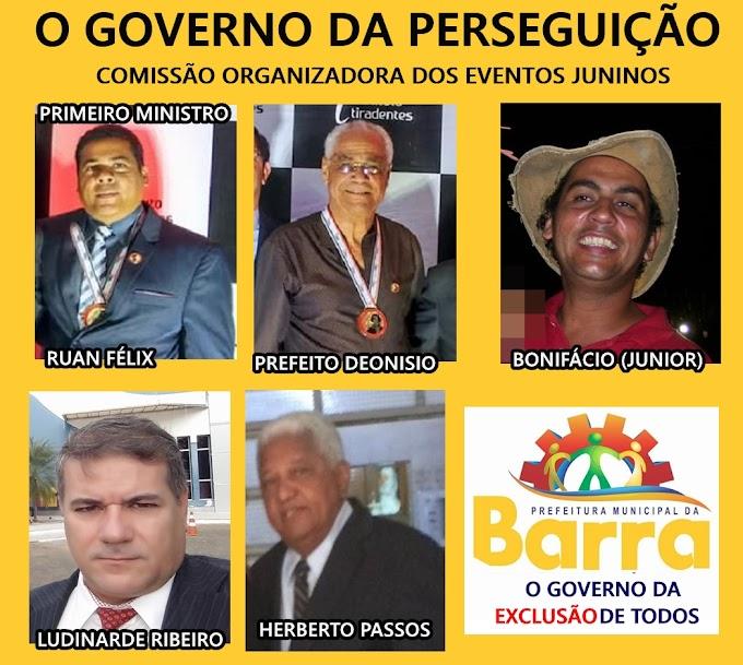 NOTA DE REPÚDIO CONTRA O GOVERNO DA EXCLUSÃO!