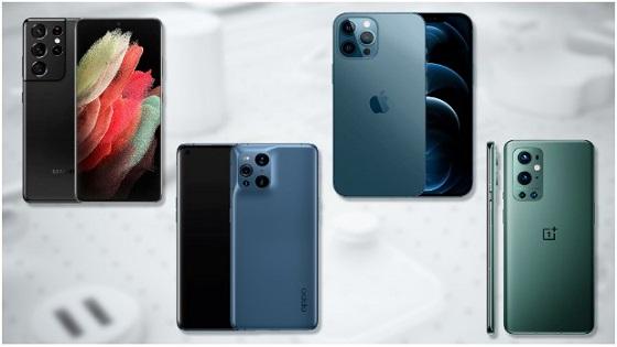 المقارنة: أي هاتف ذكي سيشتري في عام 2021 ؟