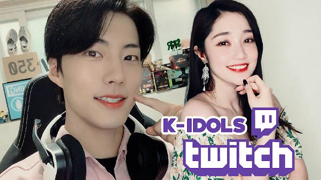 5 idols do K-POP que fazem streams na Twitch