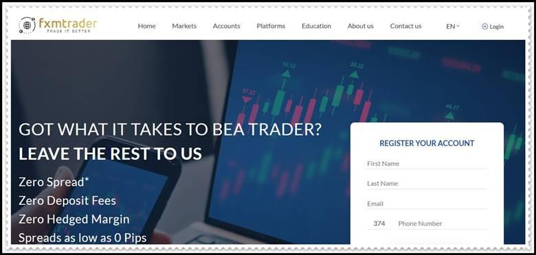 [ЛОХОТРОН] fxmtrader.com – Отзывы, развод? Компания FXM Trader мошенники!