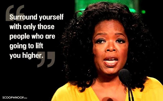 Quote of the Day!! By Oprah Winfrey!!!