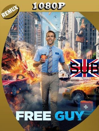 Free Guy: Tomando el Control (2021) Remux 1080p Subtitulado [GoogleDrive]