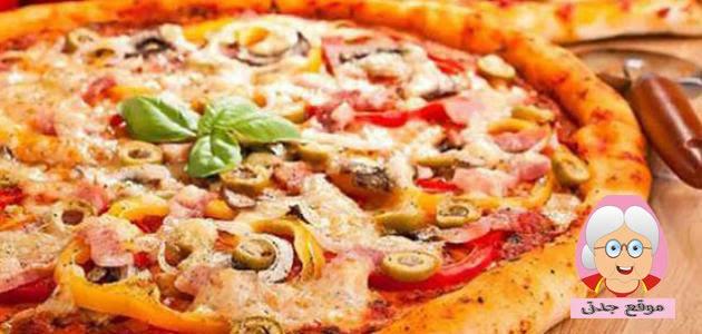 طريقة عمل البيتزا منزليا