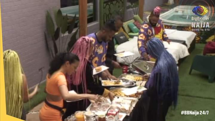 Big Brother surprises housemates with delicious breakfast today (See pictures)