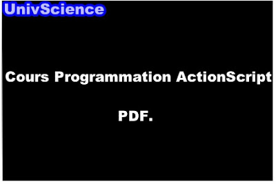 Cours Programmation ActionScript PDF.