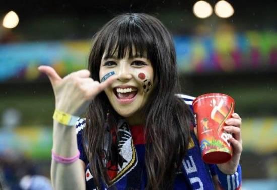 Suporter cantik Jepang piala dunia 2018