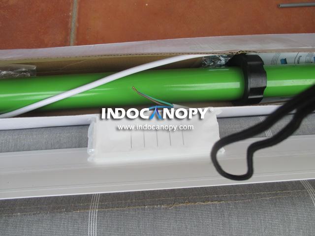 remot awning gulung motorised