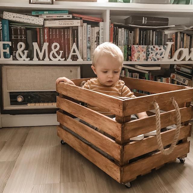 pojemnik dziecięcy pokój