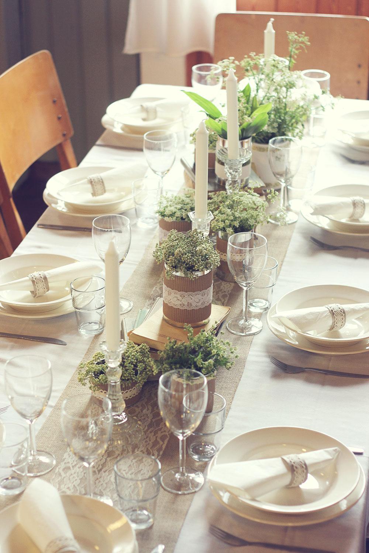 Juhlapöydän Kattaus