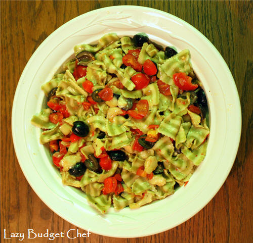 vegan and dairy free pasta salad recipe