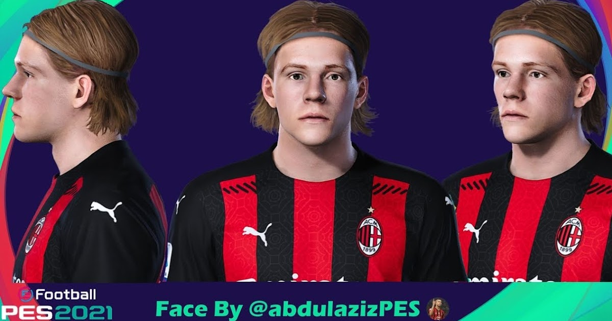 Pes 2021 Facepack Ac Milan By Abdulaziz Pesnewupdate Com Free Download Latest Pro Evolution Soccer Patch Updates
