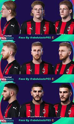 PES 2021 Facepack AC Milan by Abdulaziz