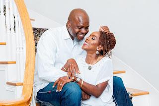 GX GOSSIP: Ibadan Business Mogul, Mogaji Abiola Iyiola Celebrates Wife at 50