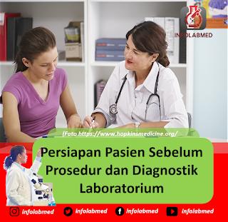 Persiapan Pasien Sebelum Prosedur dan Diagnostik  Laboratorium
