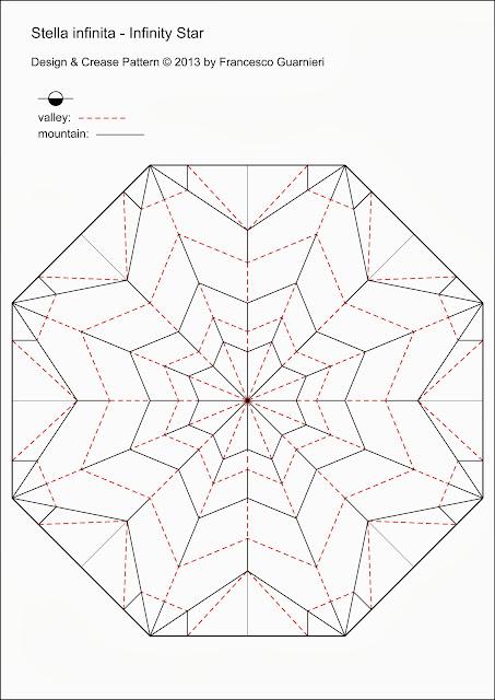 Origami-CP Stella infinita - Infinity Star by Francesco Guarnieri