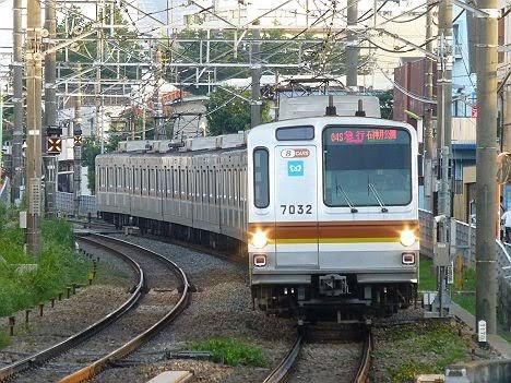【ダイヤ改正後に廃車!】7000系急行 石神井公園