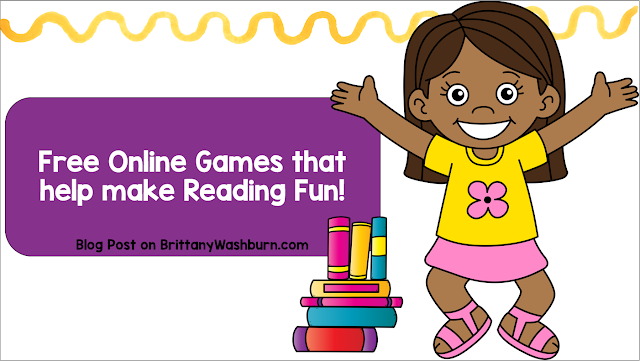 Free Online Games that help make Reading Fun